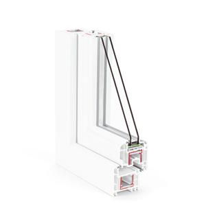 REHAU langų sistemos Brillant-Design