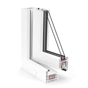 REHAU langų sistemos EURO Design 70