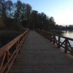 Pėsčiųjų tilto į Pilies salą kapitalinio remonto darbai